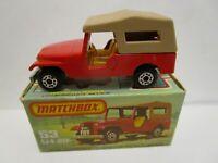 1977 MATCHBOX SUPERFAST NO.53 CJ6 JEEP ***NEW IN BOX***