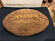 "Vintage Wilson ""The Duke� Footbal Made In Usa"