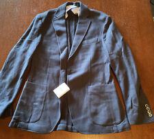 Hackett London Sport Coat Jacket Size 38R Navy NWT RARE HOT!