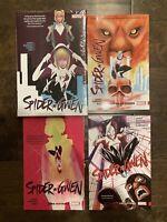 Marvel Graphic Novel Lot Spider-Gwen New Hardcover TBP Vol 1 2 3 4 Spider-man
