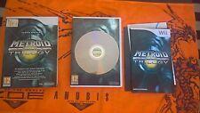 Metroid Prime Trilogy Wii WiiU PAL ITA Prima edizione [COME NUOVO]