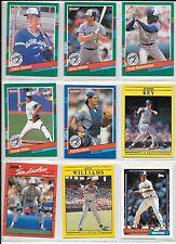 John Olerud plus 8 more Toronto Blue Jays card lot