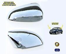 Calotte Lancia Ypsilon Y 2011> Kit Specchietti cromati coppia per calotta DX SX