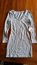 Betty Grey Marble Cindy Scoop Dress sz6 BNWT free post D92