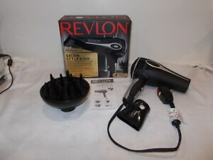 Revlon Pro Collection Salon Style & Go 1875w Hair Dryer CORD DOESN'T RETRACT