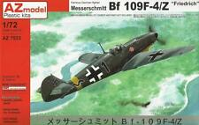 Messerschmitt Bf-109 F-4/Z (Luftwaffe MKGS) 1/72 AZ Model