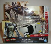 TRANSFORMERS THE LAST KNIGHT CYBERFIRE 1 STEP COGMAN TURBO CHANGER NEW
