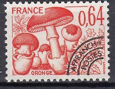 FRANCE TIMBRE   PREOBLITERE  N° 158  ** CHAMPIGNON ORONGE