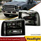 Headlights Fit For 05-07 Ford F250 F350 F450 F550 Super Duty 05-07 Headlamps US