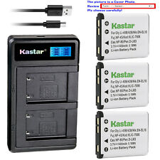 Kastar Battery LCD Dual Charger for Kodak KLIC-7006 Kodak Easyshare M552 Camera
