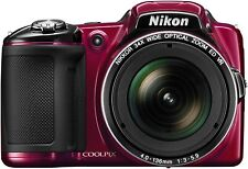 Nikon COOLPIX L830 16 MP CMOS Digital Camera with 34x Zoom NIKKOR Lens and Full