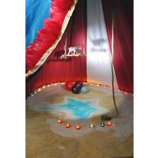 Circus Elephant Balloon Candle Arena Track  Vinyl Photography Backdrop Photo