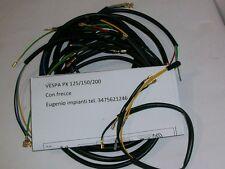 IMPIANTO ELETTRICO ELECTRICAL WIRING VESPA PX125/150/200 FRECCE+SCHEMA ELETTRICO