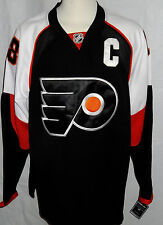 Philadelphia Flyers #18 Mike Richards RBK Official Jersey NWT Captian Shirt