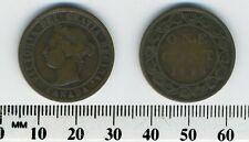 Canada 1898 H - 1 Cent Bronze Coin - Queen Victoria