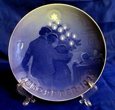 Bing & Grondahl 1925 Annual Christmas Plate - The Child's Christmas - Denmark