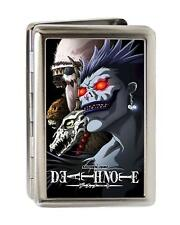 Death Note Ryuk Closeup Metal Multi Use Wallet Business Card Holder New