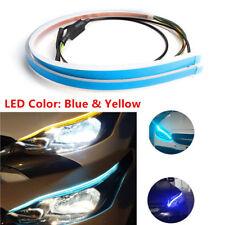60cm LED Headlight Slim Strip Light Daytime Running Sequential Flow Signal Super