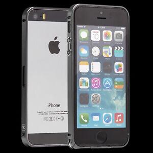 Apple iPhone 5 / 5 S Case Cover Schutz Hülle Bumper Schutz Rahmen Aluminium