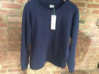Kin by John Lewis Cable Sweater Jumper / Top - Navy Small