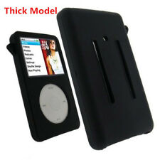 Black Silicone Skin Cover Case for iPod Video 5th 5.5th 80GB Classic THICK Model
