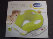 SCHOLL COMFORT NECK MASSAGER WITH HEAT AND AUDIO BRAND NEW-FREE SHIP IN AUST