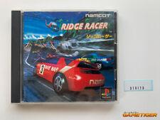 RIDGE RACER PS1 Sony Playstation JAPAN Ref:310173