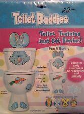 Closeout NEW TOILET BUDDIES FUN CHILD POTTY TRAINING Teaching- POO P BUNNY