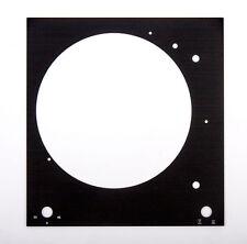 Plaque de recouvrement La platine du plaque frontale Thorens TD 150