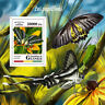 Guinea 2018 MNH Butterflies Butterfly 1v S/S Papillons Insects Stamps