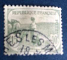 France N° 150 15c+10c Gris. Vert Oblitéré TB Choix Cote 35€