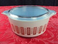 PYREX #475-B PROMOTIONAL GOURMET CASSEROLE DISH WITH LID BAKING DISH
