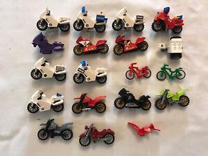 lot Moto Et Vélo lego City