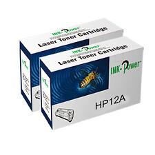 2 NonOEM Toner For HP Q2612A 12A LaserJet 1010 1012 1015 1018
