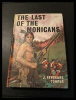 The Last of the Mohicans by J Fenimore Cooper (Hardback) Bancroft Books 1970