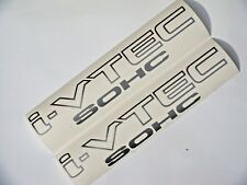 SOHC I-VTEC DECAL jdm k20 k24 civic rsx tsx accord crv element type r si ex lx