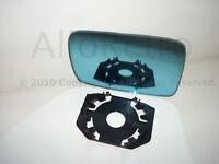 MIROIR glace de rétroviseur clips BMW bleuté droit SERIE 5 E39 95-2003