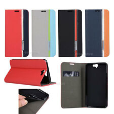 Slim ID Card Wallet Leather Flip Case Cover For HTC One A9 M7 M9 Desire 816 826