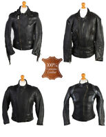 Vintage Motorbike Motorcycle Motor Biker Jackets Job Lot Wholesale x10  -Lot386
