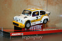 "Slot SCX Scalextric A10121S300 Fiat 1000 Abarth ""Berlina Corsa"" Nº7 - New"