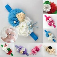 Cute Kid Girl Baby Toddler Infant Flower Headband Hair Bow Band Hair Accessories