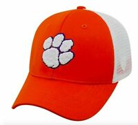 Clemson Tigers Hat Cap Snapback Trucker Mesh One Size Fits Most NWT
