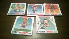 Sports Direct Olympic Football Cartoon Beer Mats 20 NEW OLD
