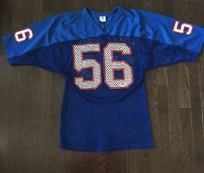 Vintage Lawrence Taylor NY Giants #56 NFL Ravens Knit Mesh Jersey Mens Size L