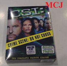 """BRAND NEW"": CSI: Crime Scene Investigation - Season 4 (DVD) - REGION 1"
