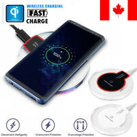 10W Fast Wireless Charger for iPhone X Xs MAX XR 8 plus Charging Samsung S8 Note
