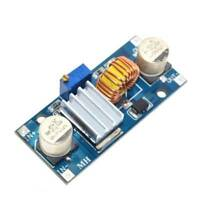 5A XL4015 DC-DC 4-38V to 1.25-36V Step Down Module Adjustable with Heat Sink