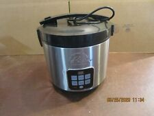 WOLF GANG PUCK BRISTO 10-CUP RICE COOKER / SLOW COOKER, MODEL# BDRCCRD010