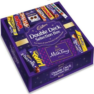 Cadbury Double Deck Selection Box by Cadbury Gifts Direct - Tracked Service