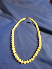 """1928 Faux Pearl Necklace Classic Style Bride Bridal Formal 18"""""""